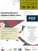 Women's Initiatives Within Firms