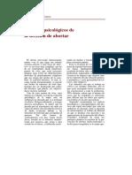 Torres, Carmen M. de - Aspectos Psicológicos de La Decisión de Abortar