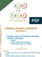 GENHERAL ORGANIC CHEMISTRY