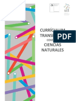 priorizacion curricular Ciencias 1ero bàsico a 4to medio Currículum Transitorio