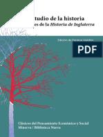 Hume, David. Sobre El Estudio de La Historia y Los Apéndices de La Historia de Inglaterra. 2010