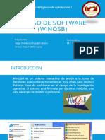 3.6 uso de software