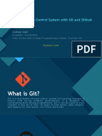 Learn Version Control System with Git and Github