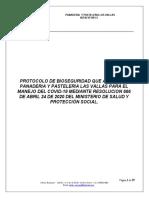 PROTOCOLO DE BIOSEGURIDAD PANADERIA Y PASTELERIA LAS VALLAS docx