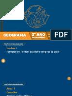 GEOGRAFIA 2 ANO EM - AULA 1