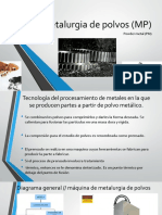 Metalurgia de polvos (MP)