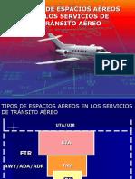 Tipos de Espacios Aéreos CU