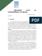 A VERDADEIRA DATA DA INDEPENDÊNCIA DO BRASIL01