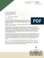 Borough President James Oddo Letter