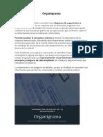 Organigrama NDEFINICION