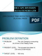 Job Change Time Reduction