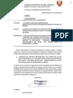 Modelo Documentos a Presentar Mesa Partes