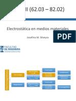 Clase 05 Electrostática en el medios materiales - Conductores v5.1.pdf