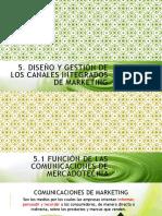5. Diseño y gestión canales integrados comunicacion