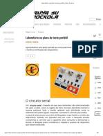 Laboratório ou placa de teste portátil _ Video Rockola