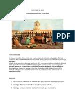 PROYECTO DE VESTIMENTA AYER Y HOY JARDIN