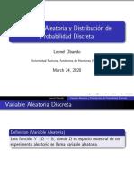 Distribuciones Discretas PARA EXAMEN II