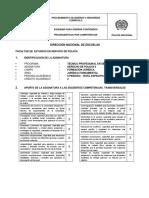 contenido programatico por competencias Derecho de Policia II - 2019-TPSP