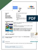 Ejemplo 1 - Guía de Aprendizaje con texto PREST 4º