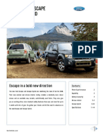 2008 Ford Escape Brochure