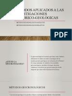Métodos aplicados a las investigaciones histórico-geológicas