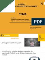 PPT - SEMANA 06- INSTALACIONES EN EDIFICACIONES - UG 2020 1