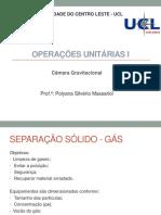 Aula 24 - Câmara Gravitacional_ Operações Unitárias I 2020_1