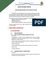 ESPECIFICACIONES TÉCNICAS 1