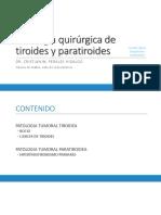 09_Patología quirúrgica de tiroides y paratiroides