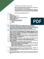 Estructura Básica para la Formulación de Proyectos.