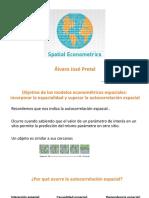 Modelos econometricos espaciales