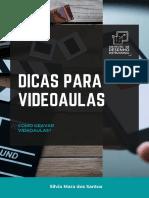 DICAS PARA VIDEOAULAS