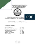 Diagnostico Area RRHH - Del Sur y Media Agua (final)