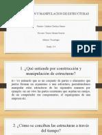 CONSTRUCCION Y MANIPULACION DE ESTRUCTURAS