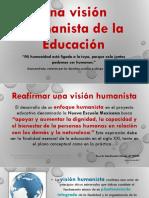 Una visión humanista de la educación NEM