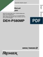 Pioneer DEH-P580MP Toyota SR5 truck stereo Manual.pdf
