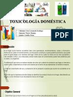 TOXICOLOGIA DOMESTICOS