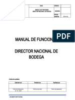 MANUAL DE FUNCIONES - DIRECTOR DE BODEGA.doc