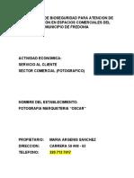 """Fredonia 4 de mayo 2020 procedimiento covid19  Fotografía y marquetería """"OSCAR"""