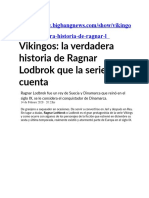 Vikingos_la Verdadera Historia de Ragnar Lodbrok