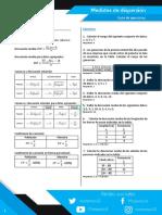 Medidas de Dispersión - Ejercicios Resueltos PDF (2)