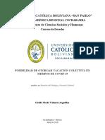 Analisis-posibilidad de Otorgar Vacación Colectiva en Tiempos de Covid-19