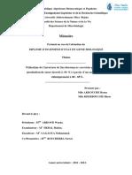 Utilisation de l'invertase de Saccharomyces cerevisiae pour l'essai de production de sucre inverti (≥ 96 %) à partir d'un sucre hydrolysé chimiquement à 80 - 85%..pdf