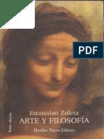 ARTE Y FILOSOFIA Estanislao-Zuleta