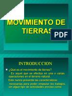 1- MOVIMIENTO DE TIERRAS
