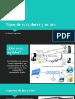 Tipos de servidores y su uso