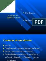 3- EXPLOTACION DE CANTERAS CON EXPLOSIVOS MAS CARRETERAS
