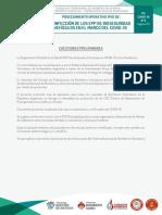 CUO. Protocolo 3. Desinfeccipon EPP y Vehículos