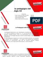 pedagogía siglo xx
