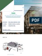 diagnostico de arquitectura sostenible